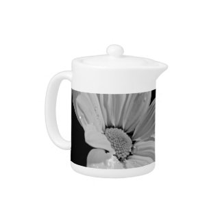 Peaceful Floral Teapot