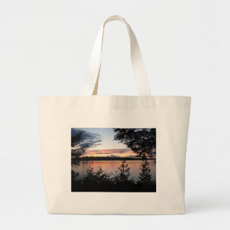 Peaceful Forest Large Tote Bag