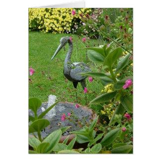 Peaceful Garden Greeting Card