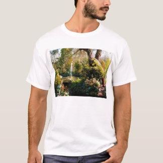 Peaceful garden in Guernsey T-Shirt