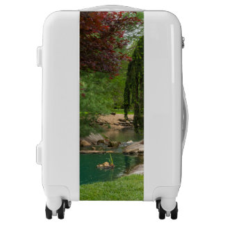 Peaceful Garden Luggage