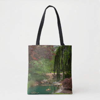 Peaceful Garden Tote Bag