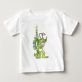 """Peaceful"" Green Alien Infant T-shirt"