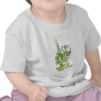 Peaceful Green Alien Infant T-shirt