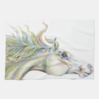 Peaceful Horse Kitchen Towels