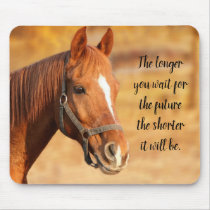 Peaceful Horse Mouse Pad