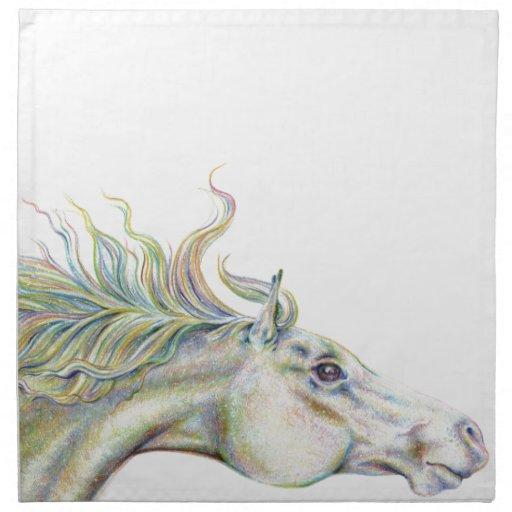 Peaceful Horse Napkins