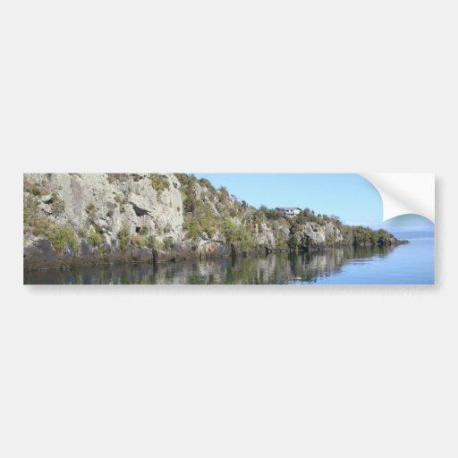 Peaceful Island Bumper Sticker