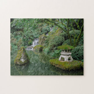 Peaceful Japanese Gardens Jigsaw Puzzle