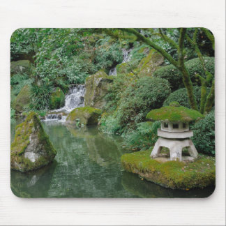 Peaceful Japanese Gardens Mouse Pad
