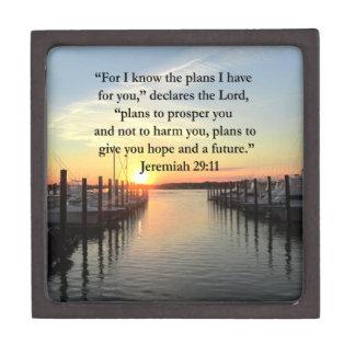 PEACEFUL JEREMIAH 29:11 SUNSET GIFT BOX
