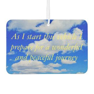 Peaceful Journey: Air Freshener
