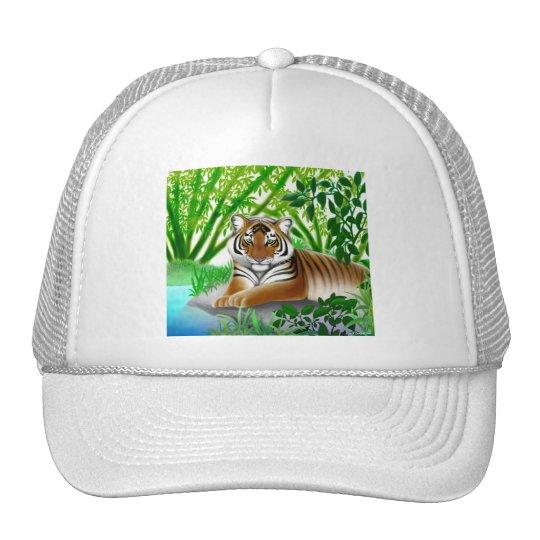 Peaceful Jungle Tiger Hat