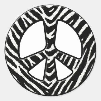 Peaceful Kingdom - 2 Classic Round Sticker