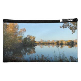 Peaceful Lake 1 Makeup Bag