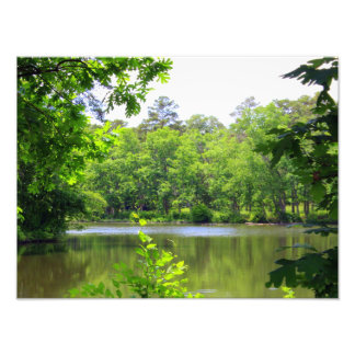 Peaceful Lake Photo Print