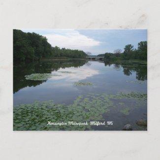 Peaceful Lake Postcard postcard