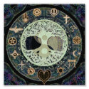 Peaceful Living Retro Yin Yang w/Tree of Life Photo Print (<em>$1.65</em>)