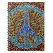 Peaceful Living Spiral Notebook (<em>$13.70</em>)
