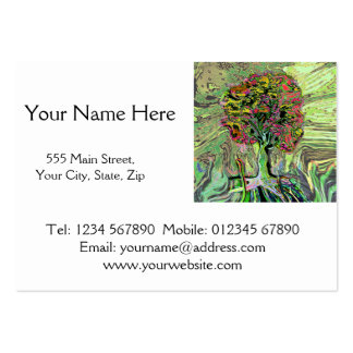 Peaceful Living Tree of Life Large Business Cards (Pack Of 100)