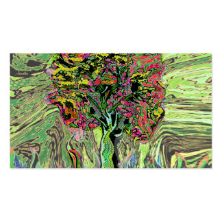 Peaceful Living Tree of Life Double-Sided Standard Business Cards (Pack Of 100)