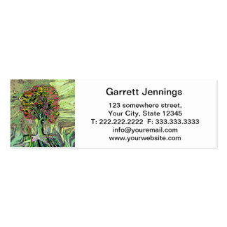 Peaceful Living Tree of Life Double-Sided Mini Business Cards (Pack Of 20)