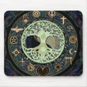 Peaceful Living Yin Yang Tree of Life Mouse Pad (<em>$11.60</em>)