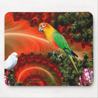 Peaceful Love Mouse Pad