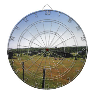 peaceful meadow dartboard