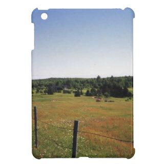 peaceful meadow iPad mini cases