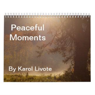 Peaceful Moments 2015 Calendar