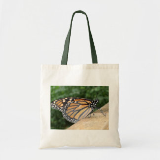 Peaceful Monarch Butterfly Budget Tote Bag