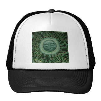 Peaceful Moon Trucker Hat