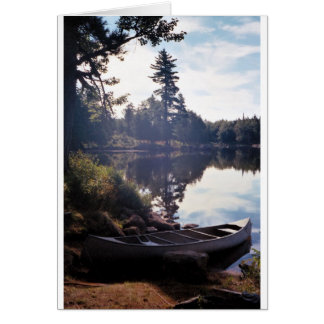 Peaceful Morning by the Lake Card