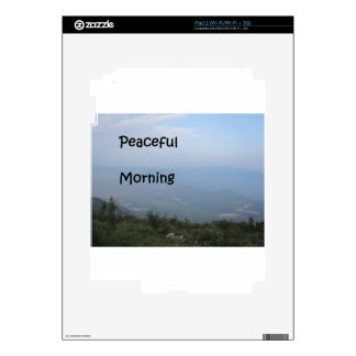 Peaceful Morning Decals For iPad 2