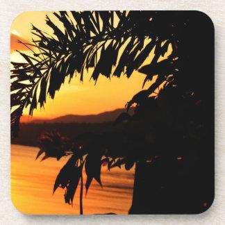 Peaceful Morning Sun Beverage Coaster