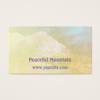 Peaceful Mountain Business Card