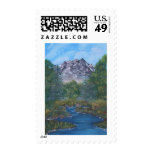 Peaceful Mountain Stamps
