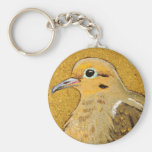 "Peaceful ""Mournings"" Dove Keychain"