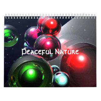 Peaceful Nature Calendar