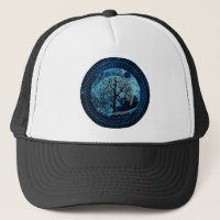 Peaceful Night Trucker Hat