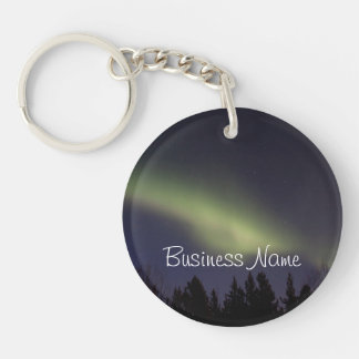 Peaceful Northern Lights; Promotional Keychain