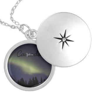 Peaceful Northern Lights; Yukon Souvenir Custom Jewelry