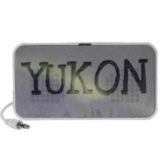 Peaceful Northern Lights; Yukon Souvenir Travelling Speakers