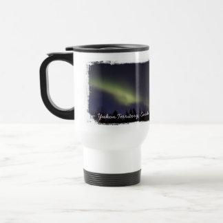 Peaceful Northern Lights; Yukon Souvenir Travel Mug