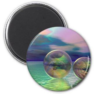 Peaceful ocean magnet