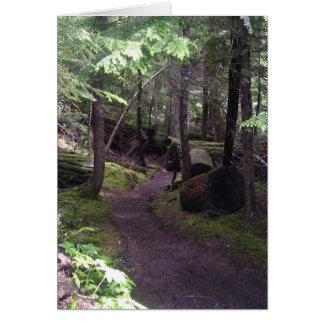 peaceful  Oregon trail cards