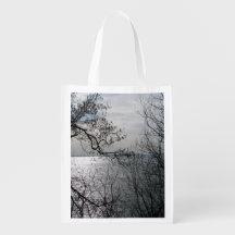 Peaceful Overlook Reusable Grocery Bag