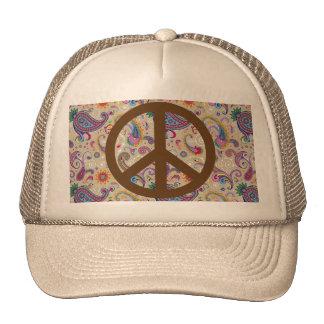 Peaceful Paisley Mesh Hat