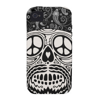 Peaceful Paisley Skull iPhone 4/4S Cases